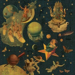 Mellon Collie and the Infinite Sadness by The Smashing Pumpkins album cover deluxe reissue