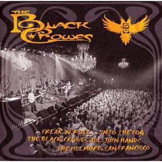 Freak n' Roll Into the Fog Black Crowes album cover