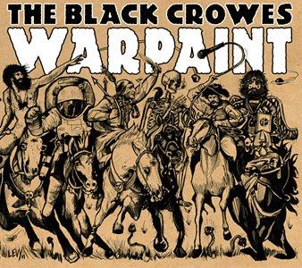 Black Crowes Warpaint album cover