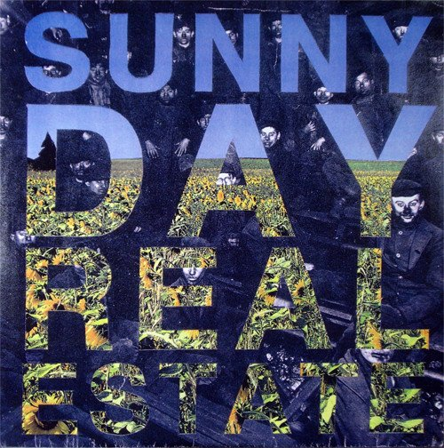 """Sunny Day Real Estate Flatland Spider 7"""" cover"""